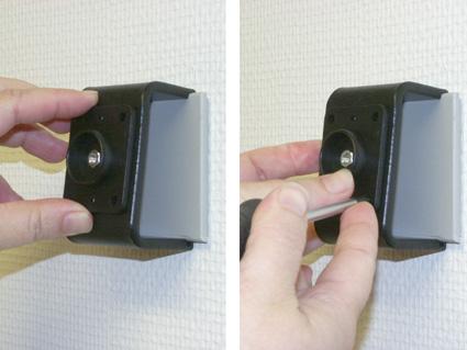 Inštalácia produktu Pasívny držiak pre GPS Mio, Navigon, Becker, Blaupunkt. Krok 2.