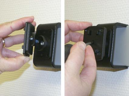 Inštalácia produktu Pasívny držiak pre GPS Mio, Navigon, Becker, Blaupunkt. Krok 3.
