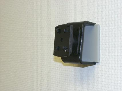 Inštalácia produktu Pasívny držiak pre GPS Mio, Navigon, Becker, Blaupunkt. Krok 4.