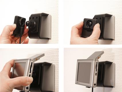 Inštalácia produktu Pasívny držiak pre Garmin GPS. Krok 3.