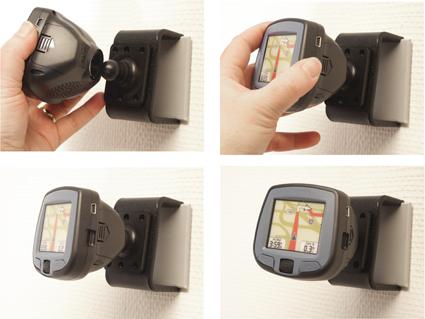 Inštalácia produktu Pasívny držiak pre Garmin GPS. Krok 4.