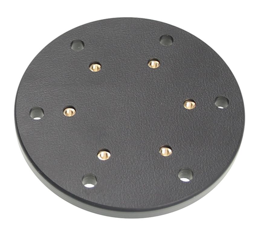Ram Mount Parts >> Pedestal Mount, mounting plate Pedestal mount mounting plate for round base/top parts. Diameter ...