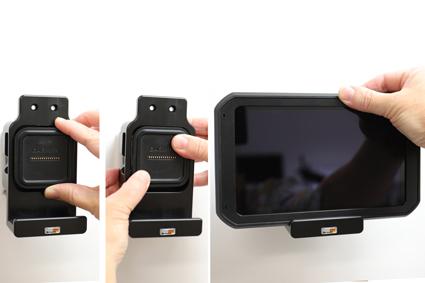 Inštalácia produktu Pasívny držiak pre GPS navigácie Garmin dezl 780, dezlCam 785. Krok 2.