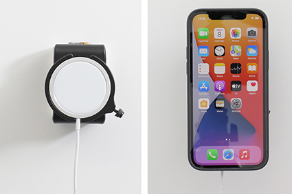 Inštalácia produktu Držiak pre Apple MagSafe Charger pre iPhone 12/Pro/Max/Mini. Krok 4.