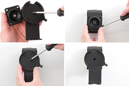 Inštalácia produktu Držiak pre Apple MagSafe Charger s kĺbom II pre iPhone 12/Pro/Max Krok 1.