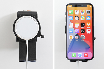 Inštalácia produktu Držiak pre Apple MagSafe Charger s kĺbom II pre iPhone 12/Pro CL. Krok 4.