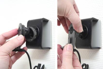 Inštalácia produktu Pasívny držiak pre GPS Mio Moov 3xx, Navman Sxx, MYxx, Becker. Krok 3.