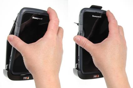 Inštalácia produktu Pasívny držiak pre Honeywell CT50 s klipom Krok 1.