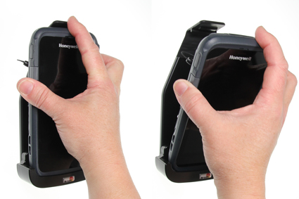 Inštalácia produktu Pasívny držiak pre Honeywell CT50 s klipom. Krok 2.