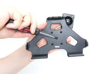 Inštalácia produktu Pasívny držiak do auta pre Huawei MediaPad S7-301u Krok 1.