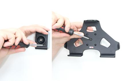 Inštalácia produktu Pasívny držiak do auta pre Huawei MediaPad S7-301u. Krok 2.