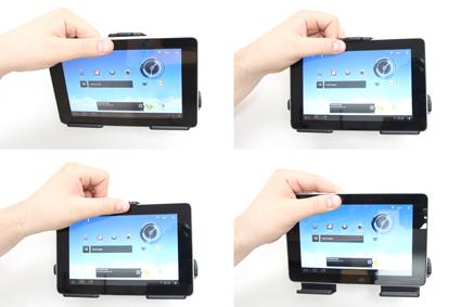 Inštalácia produktu Pasívny držiak do auta pre Huawei MediaPad S7-301u. Krok 3.