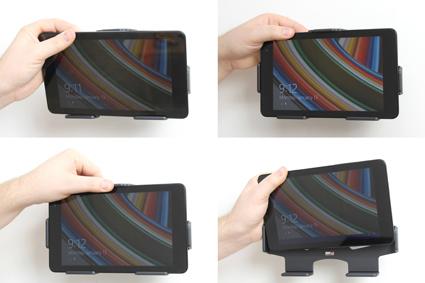 Inštalácia produktu Pasívny držiak do auta pre Dell Venue 8 Pro. Krok 3.