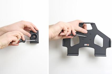 Inštalácia produktu Pasívny držiak do auta pre Samsung Galaxy Note 10.1 2014. Krok 2.