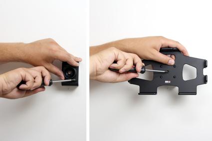 Inštalácia produktu Pasívny držiak do auta pre Samsung Galaxy Tab 4 8.0 T335. Krok 2.