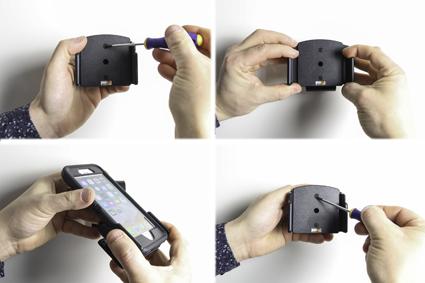 Inštalácia produktu Pasívny držiak pre Apple iPhone 11,Xs Max, 6/6S/7/8 Plus s puz II Krok 1.