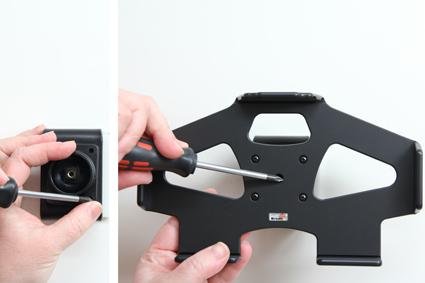 Inštalácia produktu Pasívny držiak do auta pre Huawei MediaPad T1 8.0. Krok 2.