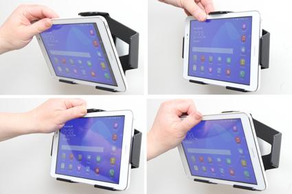 Inštalácia produktu Pasívny držiak do auta pre Huawei MediaPad T1 8.0. Krok 3.