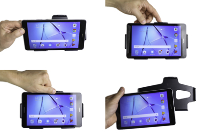 Inštalácia produktu Pasívny držiak do auta pre Huawei MediaPad T3 8.0. Krok 3.
