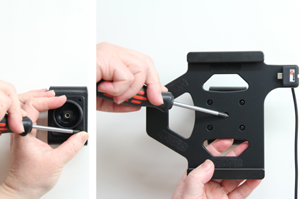 Inštalácia produktu Aktívny držiak do auta pre Huawei MediaPad T1 8.0. Krok 2.