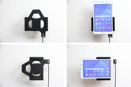 Inštalácia produktu Aktívny držiak do auta pre Huawei MediaPad T1 8.0. Krok 4.