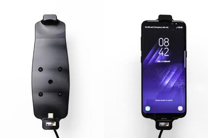 Inštalácia produktu Aktívny držiak pre Samsung Galaxy S9/S8 s puzdrom. Krok 4.