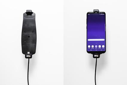 Inštalácia produktu Aktívny držiak pre Samsung Galaxy S9+/S8+ s puzdrom. Krok 4.