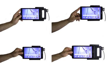 Inštalácia produktu Aktívny držiak do auta pre Huawei MediaPad T3 8.0. Krok 3.