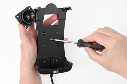 Inštalácia produktu Aktívny držiak pre Honeywell CT50 s Molex kon. Krok 1.