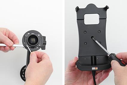 Inštalácia produktu Aktívny držiak pre Honeywell CT50 s Molex kon.. Krok 2.