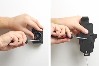 Inštalácia produktu Držiak pre Apple iPhone 6/6S/7/8 Plus, XS Max pre použit s káblom. Krok 2.