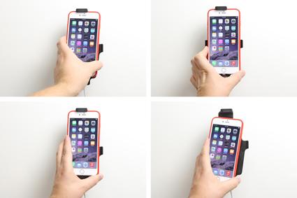 Inštalácia produktu Držiak pre Apple iPhone 6/6S/7/8 Plus, XS Max pre použit s káblom. Krok 3.