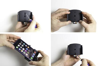 Inštalácia produktu Nast. držiak pre Apple iPhone 11,11 Pro,Xs Max,6/6S/7/ 8 Plus kábe Krok 1.