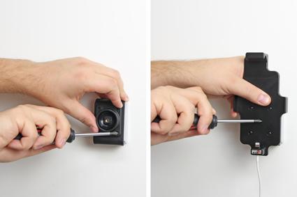 Inštalácia produktu Držiak pre Apple iPhone 6S/7/8 pre použitie s káblom/ USB s puzdro. Krok 2.