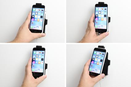 Inštalácia produktu Držiak pre Apple iPhone 6S/7/8 pre použitie s káblom/ USB s puzdro. Krok 3.