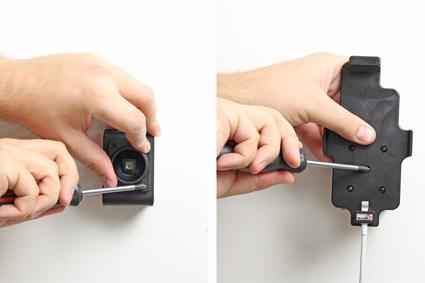 Inštalácia produktu Držiak pre Apple iPhone 6/6S/7/8 pre použitie s káblom/ 30pin s pu. Krok 2.