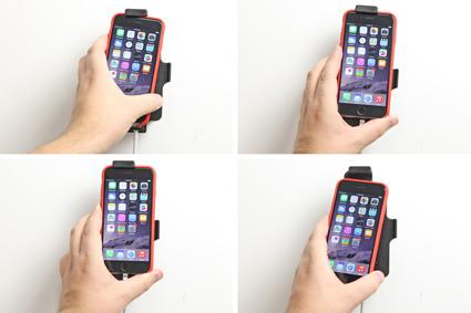 Inštalácia produktu Držiak pre Apple iPhone 6/6S/7/8 pre použitie s káblom/ 30pin s pu. Krok 3.