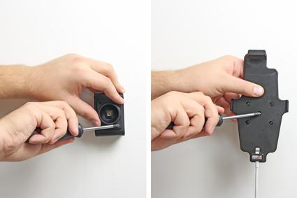 Inštalácia produktu Držiak pre Apple iPhone 6/6S/7/8 Plus, Xs Max pre kábel/ 30pin s p. Krok 2.