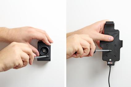 Inštalácia produktu Aktívny držiak pre Apple iPhone 12 Mini/ 6/6S/7/8/SE2020 s puzdrom. Krok 2.