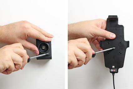 Inštalácia produktu Aktívny držiak pre Apple iPhone 6/6S/7/8 Plus, Xs Max s puzdrom. Krok 2.