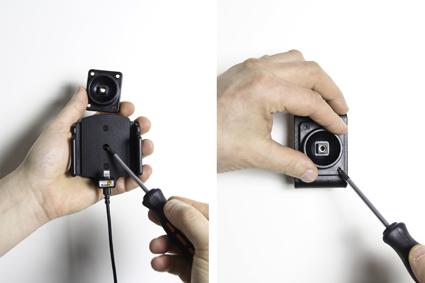 Inštalácia produktu Aktívny držiak pre Apple iPhone 6/6S/7/8/X/ Xs s tenkým puzdrom. Krok 2.