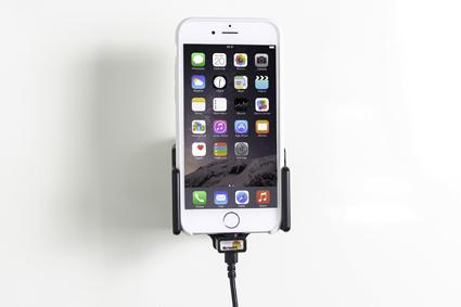 Inštalácia produktu Aktívny držiak pre Apple iPhone 6/6S/7/8/X/ Xs s tenkým puzdrom. Krok 4.