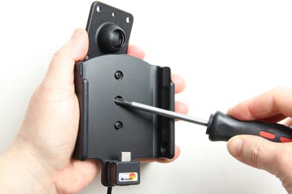 Inštalácia produktu Aktívny držiak pre Samsung Galaxy A5 2017 A520F USB+CL Krok 1.