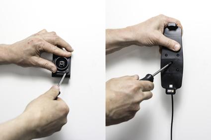 Inštalácia produktu Aktívny držiak pre Samsung Galaxy S9+/S8+ s puzdrom USB+CL. Krok 2.