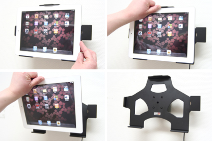 Inštalácia produktu Aktívny držiak do auta pre Apple New iPad (3. gen) /iPad 2 s Molex. Krok 3.