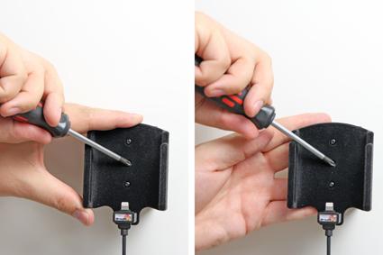 Inštalácia produktu Aktívny držiak pre Apple iPhone 6/6S/7 s Molex kon.. Krok 3.