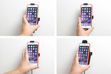 Inštalácia produktu Aktívny držiak pre Apple iPhone 6/6S/7/8 Plus, Xs Max s puzdrom s. Krok 3.