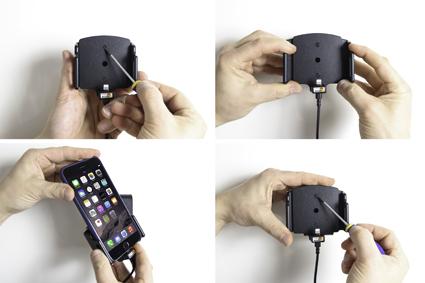 Inštalácia produktu Aktívny držiak pre Apple iPhone iPhone 11,11 Pro,Xs Max,6/6S/7/8 Krok 1.