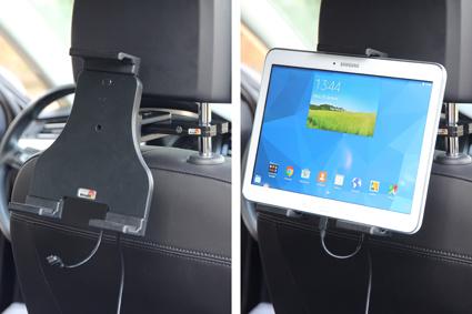 Inštalácia produktu Aktívny nastaviteľný držiak UNI pre tablet 180-230mm Molex. Krok 4.