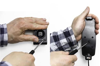 Inštalácia produktu Aktívny držiak pre Samsung Galaxy S9/S8 s puzdrom s Molex kon.. Krok 2.